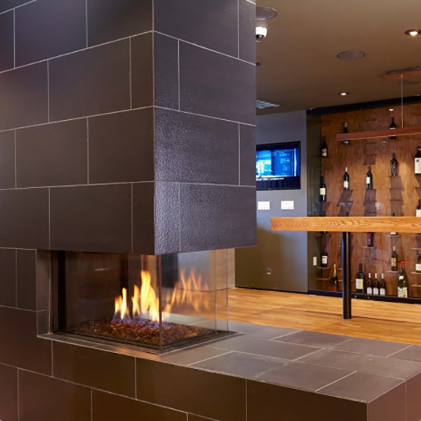 Ortal – Space Creator 75 Three Sided Gas Fire