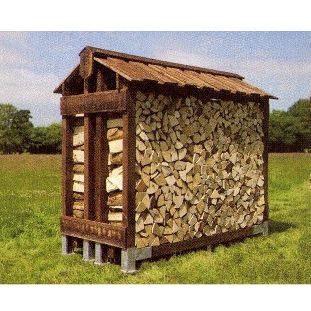 Clearview – Standard Double Outdoor Log Store