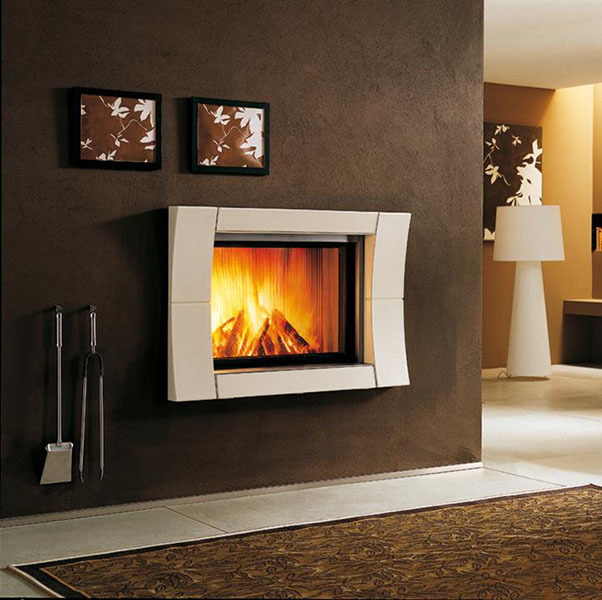 Piazzetta – Academy Fireplace suitable for Wood or Gas