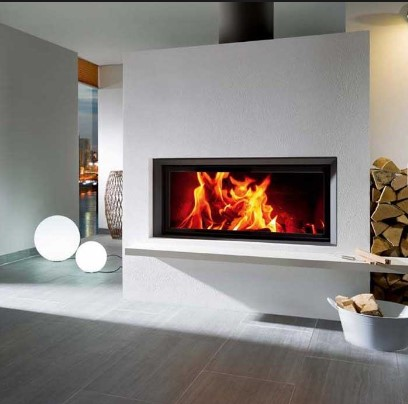 Brunner – Architecture Wood Burning Front Glass Fireboxes