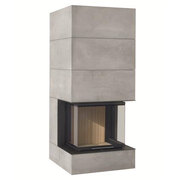 Brunner – BSK 05 Three Sided Fireplace
