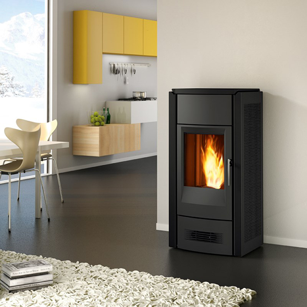 Piazzetta Clearance – P958D Wood Pellet Burning Stove in Ardesia - SPECIAL OFFER