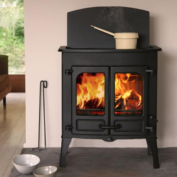 Charnwood Stoves – Island 2 CT Wood Burning Stove