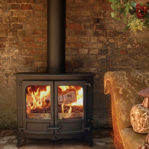Charnwood Stoves – Island 3 Wood Burning Stove