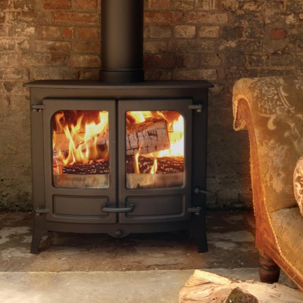 Charnwood Stoves – Island 3 B Wood Burning Boiler Stove