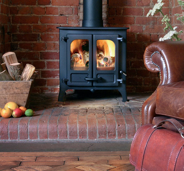 Charnwood Stoves – Island 1 Wood Burning Stove