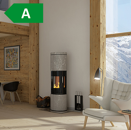 RAIS –  Juno 5kw Wood Burning Stove