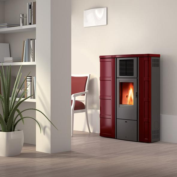 Piazzetta Superior – Lisa Wood Pellet Burning Stove