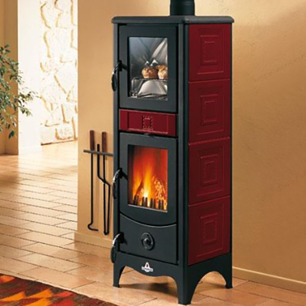 Piazzetta Superior – Maddalena Wood Burning Stove with Oven