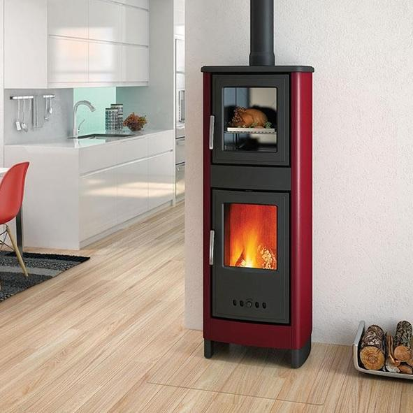 Piazzetta Superior – Malika Wood Burning Stove