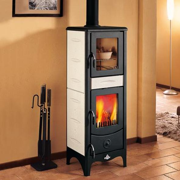 Piazzetta Superior – Milena Wood Burning Stove with Oven