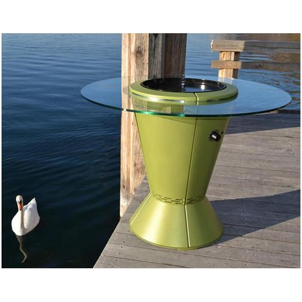 Outsign – Cookout Outdoor Cooking System with Glass Surround Table