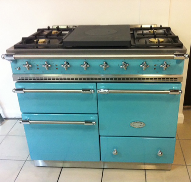 Lacanche – Macon Classic in Teal with Chrome Fittings Ex Display
