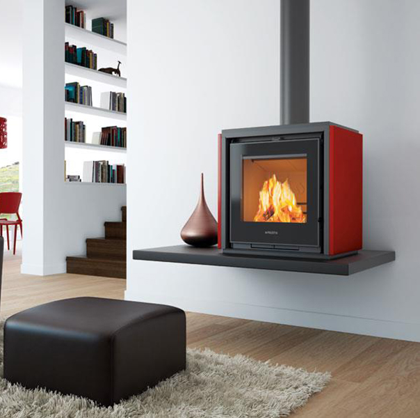 Piazzetta – Qube 1 Wood Burning Stove