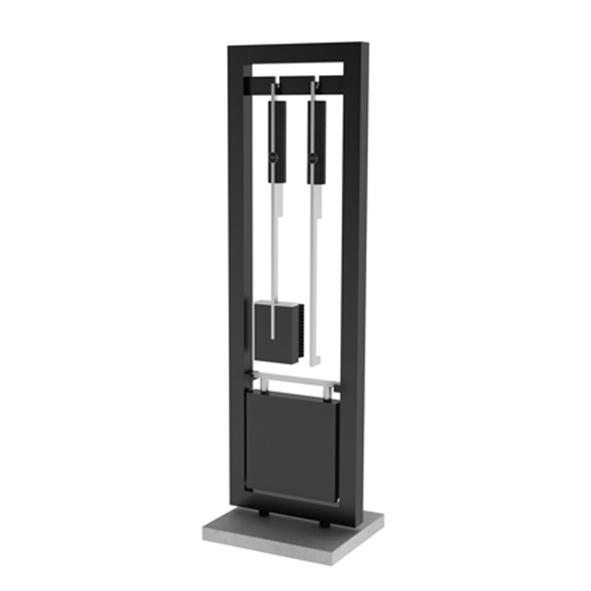 Rais – Fire Tool Set Floor Standing Sculptural