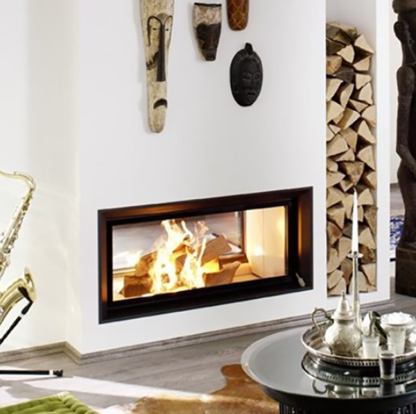 Brunner – Architecture Wood Burning Tunnel Fireboxes