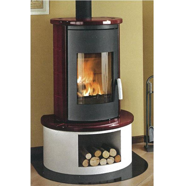 Piazzetta Superior Vittoria Wood Burning Stove Without
