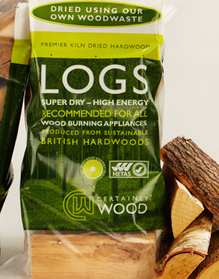 Certainly Wood – Kiln Dried Firewood Logs Bags