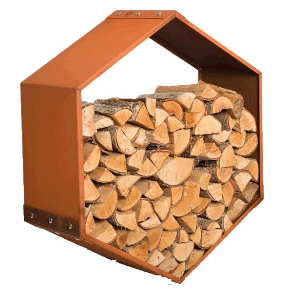 Harrie Leenders – WoodBee Wall Outdoor Wood Storage Module