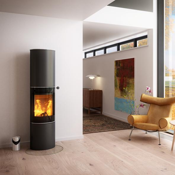 Rais Stoves | Pilar 14 5kw Wood Burning Stove